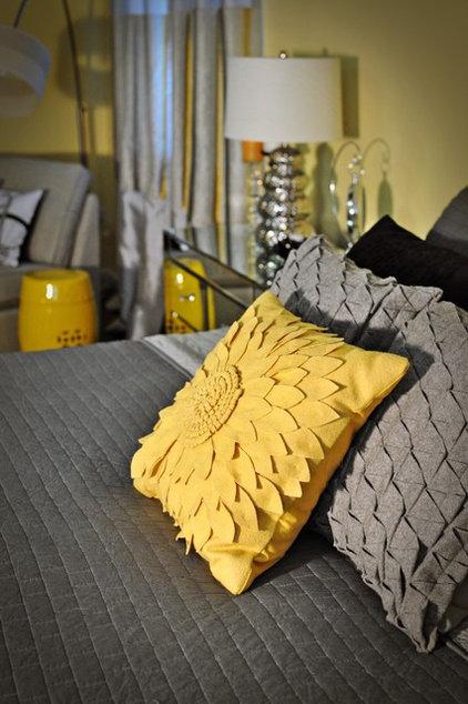 Contemporary Bedroom by Nicole White Designs Inc