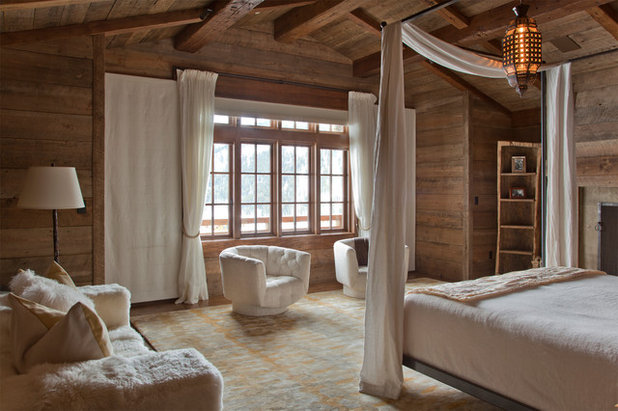 Rustic Bedroom Contemporary Bedroom