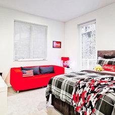Contemporary Bedroom by Vidabelo Interior Design