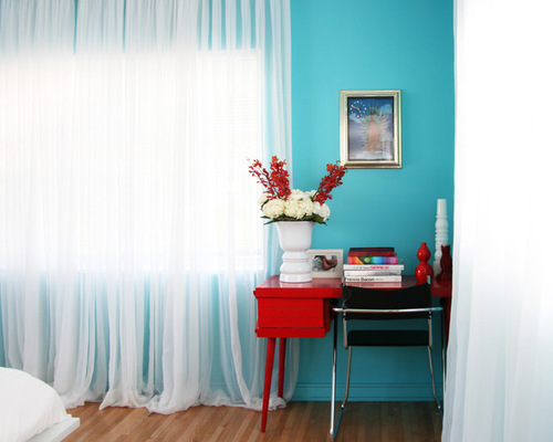red and blue bedroom designs