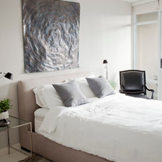 Contemporary Bedroom by PURE Design Inc