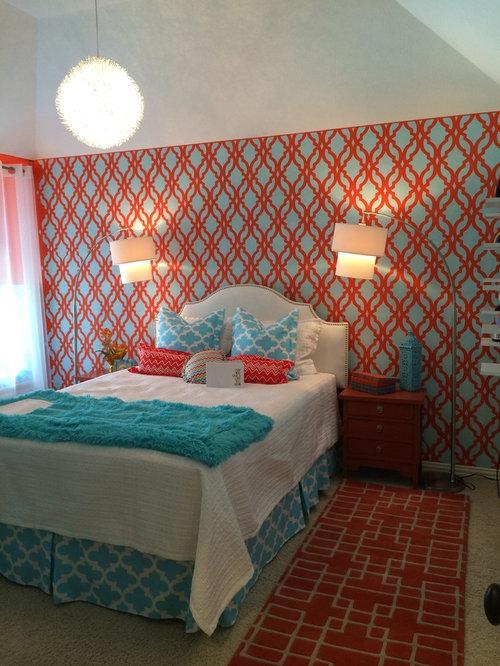 exciting blue orange bedroom ideas | Blue Orange Bedroom Ideas, Pictures, Remodel and Decor
