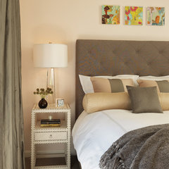 contemporary bedroom by Rachel Reider Interiors