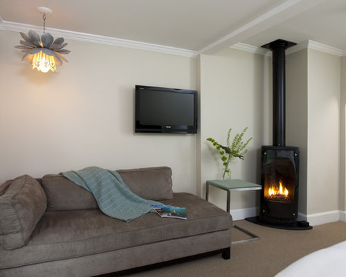 corner gas fireplace houzz