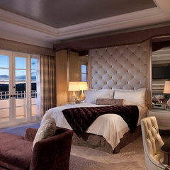 contemporary bedroom by Sue Firestone