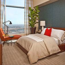 Contemporary Bedroom by Smith Firestone Associates