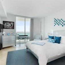 Contemporary Bedroom by David Lane