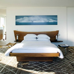 contemporary bedroom by Stelle Lomont Rouhani Architects