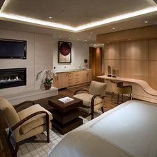 Contemporary Bedroom by 186 Lighting Design Group - Gregg Mackell