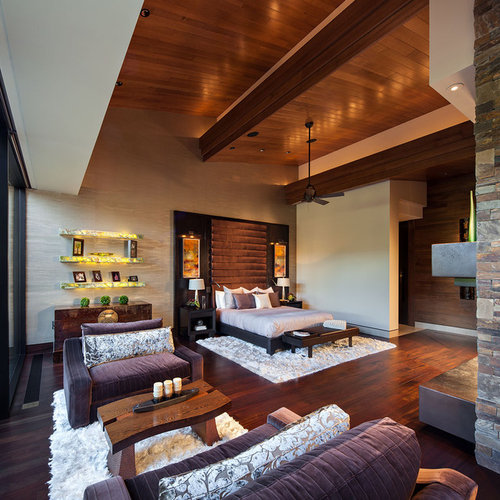 Dramatic Bedroom Home Design Ideas, Pictures, Remodel And