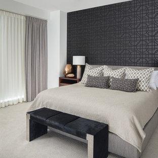Chambre avec un mur noir : Photos et idées déco de chambres