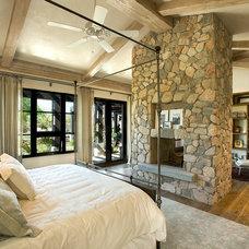 Contemporary Bedroom by Tom Archer Custom Homes & Design, LLC