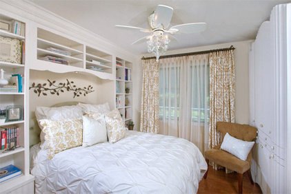Contemporary Bedroom by Style On a Shoestring