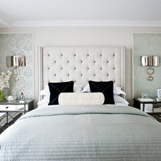 Contemporary Bedroom by Elizabeth Metcalfe Interiors & Design Inc.