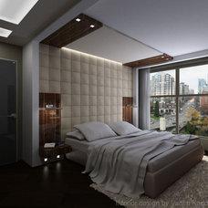 Contemporary Bedroom by Vadim Kadoshnikov
