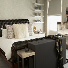 Contemporary Bedroom by Violet & George