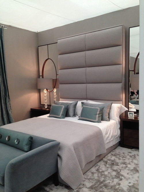 Master bedroom headboards houzz Master bedrooms with upholstered beds