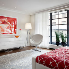 Contemporary Bedroom by William Reue Architecture