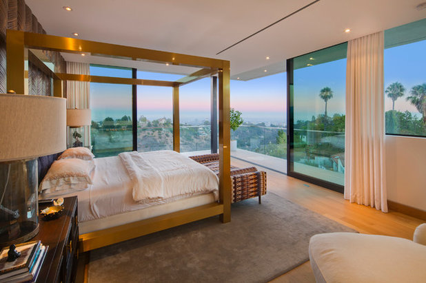Contemporary Bedroom by Wolf Design Studio