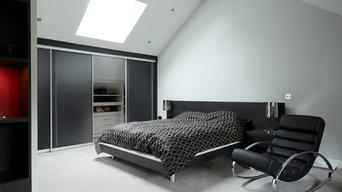Contemporary Capri Bedroom by Strachan