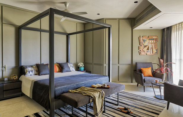 Contemporary Bedroom by Studio Osmosis