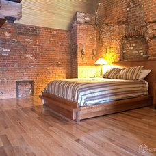 Contemporary Bedroom by CliqStudios Cabinets