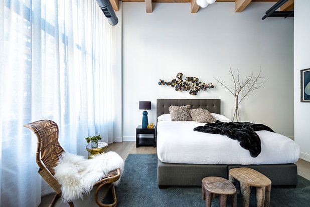Contemporary Bedroom by Chris Bradley Photography