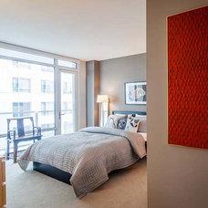 Contemporary Bedroom by Tansu Design