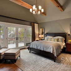 Craftsman Bedroom by SMART Construction Group, Ltd.