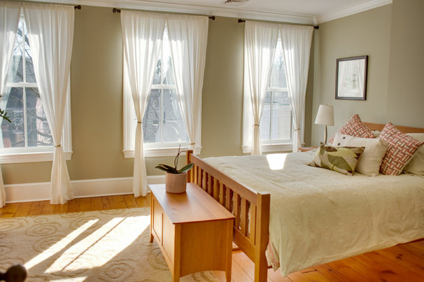 Contemporary Bedroom by Audrey Kerchner