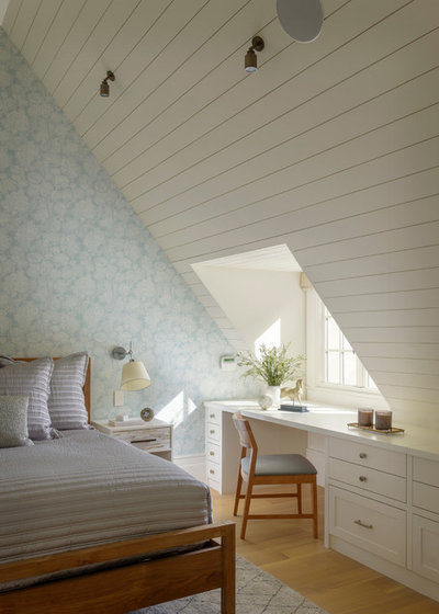 Transitional Bedroom by Gast Architects