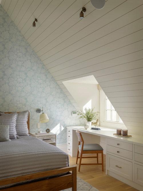 Dormers bedroom design ideas remodels photos houzz for Dormer bedroom ideas