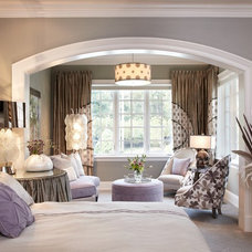 Transitional Bedroom by The Design Source Ltd