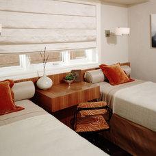 Contemporary Bedroom by Sarah Barnard Design