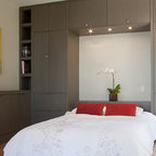 Bed Surround - Contemporary - Bedroom - New York - by Rylex Custom Cabinetry and Closets