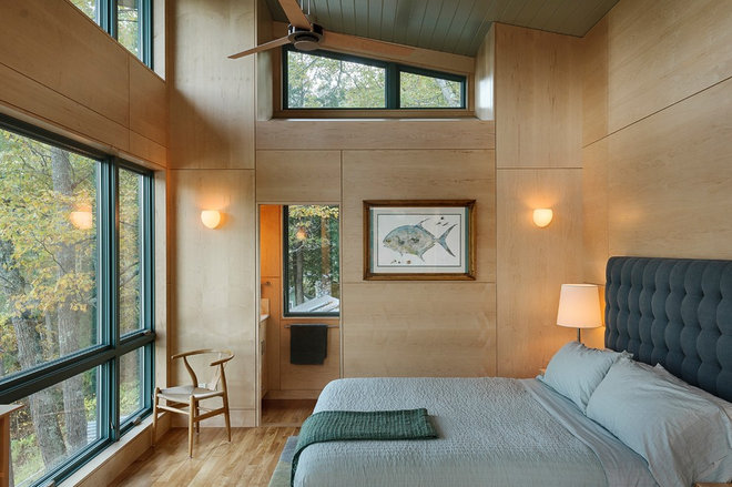 Contemporary Bedroom by Smith & Vansant Architects PC