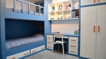 Contemporary Hand Painted Child's Bedroom