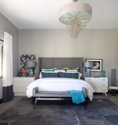 Contemporary Bedroom by Ashley Campbell Interior Design