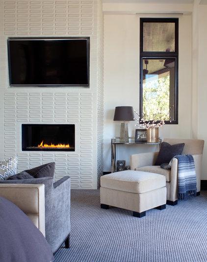 Contemporary Bedroom by Ashley Campbell Interior Design
