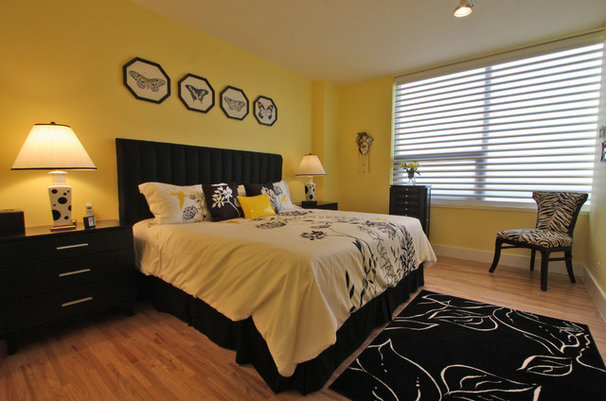 Contemporary Bedroom by Dena Brody, ASID, RID
