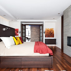 Contemporary Bedroom by David Giral Photography