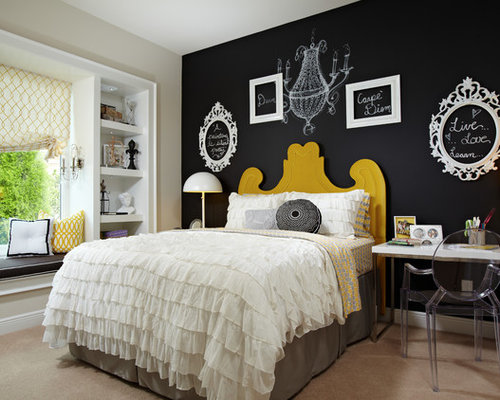 7 Inspiring Kid Room Color Options For Your Little Ones: Chalk Paint Home Design Ideas, Pictures, Remodel And Decor