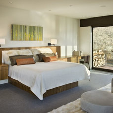 Contemporary Bedroom by Katherine Rixon and Rob Cronin