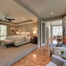 Contemporary Bedroom by Spacecrafting / Architectural Photography