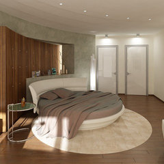 contemporary bedroom by Vadim Kadoshnikov
