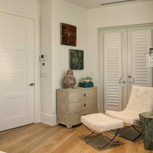 Bedroom - contemporary bedroom idea in Denver