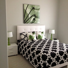 Contemporary Bedroom by Michele Wiltchik Interiors