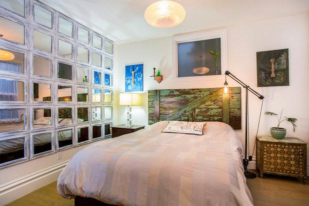 eklektisch schlafzimmer by marcell puzsar brightroomsf photography - Wie Man Ein Kopfteil Baut
