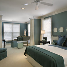 Contemporary Bedroom by Connie Long Interiors