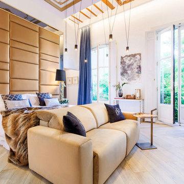 Contemporary Master Suite-Casa Decor